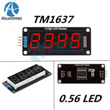 0.56 Inch TM1637 4-Bits Red Digital LED Display Clock Tube Display for Arduino