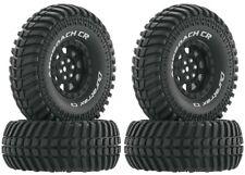 "NEW Duratrax Rock Crawler 1.9"" Approach CR C3 Mounted Tires Black Wheels (4) ..."