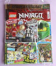 Revista lego Ninjago Legacy 3/19 + tarjeta le 24 + Kai vs. Wyplash