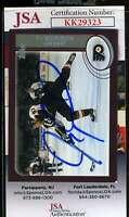 Jeremy Roenick JSA Coa Hand Signed 2002 Topps Autograph