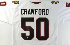 Corey Crawford Signed Blackhawks Jersey (JSA) 2X Stanley Cup Champion 2013/ 2015