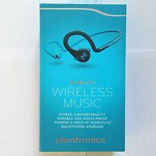 BRAND New Plantronics BackBeat Fit Bluetooth Wireless Headphone Sweatproof Blue