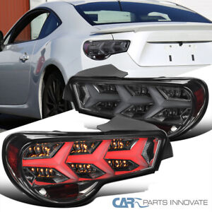 For 13-16 Scion FRS Subaru BRZ Lambo Style Smoke LED DRL Sequential Tail Lights