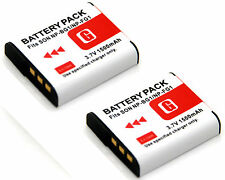 2x Li-ion Battery for NP-BG1 Sony Cyber-shot DSC-W70 DSC-W80 DSC-W85 DSC-W90