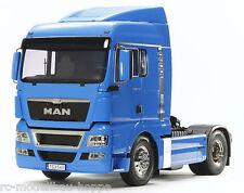 TAMIYA 1-14 Man Tgx 18,540 Franz, bleu vorlackiert 300056350