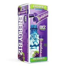 Zipfizz Healthy Energy Drink Mix, Hydration with B12 and Multi Vitamins - Grape