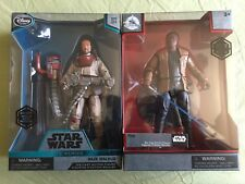 Disney Store Star Wars Elite Series FINN And Baze Malbus Die Cast Action Figures