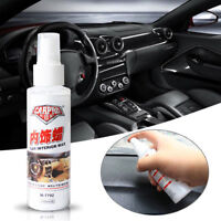 Inner Detail Seat Polish Leather Surface Dashboard Cleaner Car Interior Wax