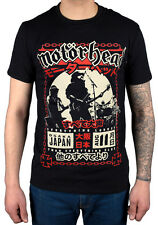 Official Motorhead Loud In Osaka T-Shirt Lemmy Everything Louder Swords England