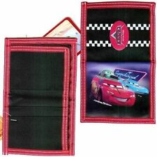 Wallet Bifold Disney Pixar CARS Lighting McQueen Boy New Spcgd