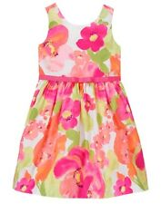 NWT Gymboree Family Brunch Floral dress special Occassion Wedding Easter Girls