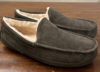 UGG ASCOT 1101110 CHARCOAL MEN'S SLIPPERS AUTHENTIC SIZE 16, WATER-RESISTANT NEW