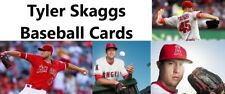 You Pick Your Card - Tyler Skaggs - Los Angeles Angels - Baseball Card Selection