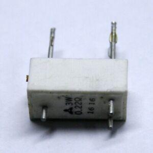 Matsushita Emitter resistor 0,22 ohm 3W