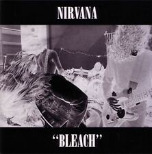 NIRVANA bleach (CD, album, 1989, sub pop) grunge, alternative rock, 13 tracks