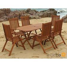 indoba® Gartenmöbel Set 7-teilig Bangor IND-70064 aus Eukalyptus FSC Holz