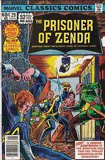 1977 Marvel Classic Comics The Prisoner of Zenda Comic Book #29