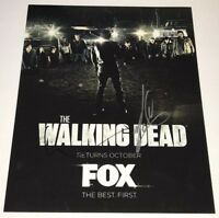 NORMAN REEDUS +1 Signed WALKING DEAD 11x14 Photo IN PERSON Autograph