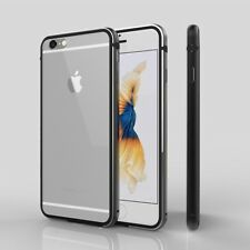 Shockproof Metal Frame with Soft TPU Lining Bumper Case For iPhone 6 6s 7 8 Plus