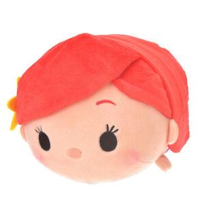 Disney Store Japan Princess Ariel Little Mermaid Small Tsum Tsum Plush Toy Cute