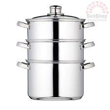 Kitchen Craft 3 Tier Steamer Stainless Steel 20cm