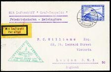 Zeppelin LZ 127 1930 Germany - Helsinki - London Baltic Flight  - Stuart Katz