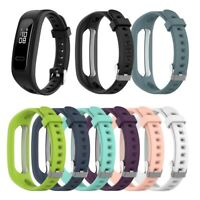 Rubber Watch Strap Replacement Band Quick Release For Huawei Band 3e 4e