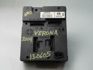2004 - 2006 SUZUKI VERONA THEFT LOCKING COMPUTER CONTROL MODULE UNIT 96481843