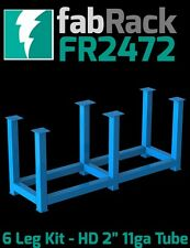 "CertiFlat FR2472 24""X72"" FabRack CNC Laser Tube 6 Leg Kit for FabBlock Tables HD"