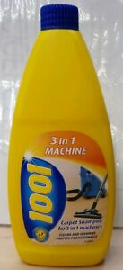 1001 Carpet and Upholstery Shampoo 3 In 1 Machine 500ml