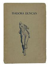 Der Tanz der Zukunft Dance of the Future ~ ISADORA DUNCAN First Edition 1903 1st