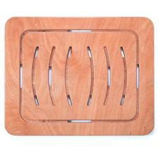 Pedana doccia 104x62 antiscivolo per piatto legno marino okumè design ultraslim
