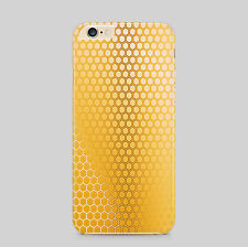 Honeycomb Pattern Bees Pollen Phone Case Cover