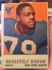 1959 Topps # 114 Roosevelt Brown Football Card