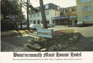 6x4 Continental size printed Moat House Hotel Bournemouth