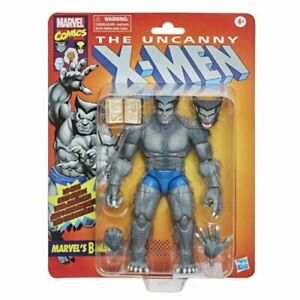 "X-Men Marvel Legends Retro Gray Beast Action Figure 6"" Grey Beast IN STOCK"