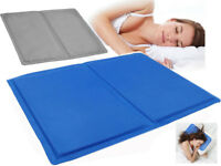 COLD COOLING GEL PAD PILLOW COOLING MAT LAPTOP CUSHION YOGA PET BED SOFA