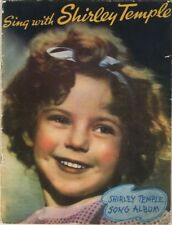 Sing With Shirley Temple Song Album 1935 Movietone Music Corp Complete with Cove