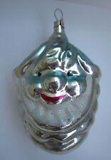 Russian Christmas Tree Glass Ornament Smiling Dwarf Pine Cone Лесной Эльф
