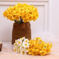 6pcs/Lot Home Artificial  Simulation Flower Decor Wedding Decor Sales