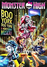 "NEW  DVD // MONSTER HIGH - BOO NEW YORK  + BONUS FEATURE  ""EVER AFTER HIGH """