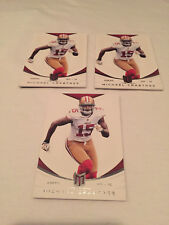 2013 Panini Momentum Football Michael Crabtree San Francisco 49ers 3 card lot 41
