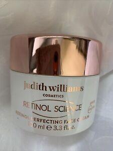 JUDITH WILLIAMS-Retinol Science Retinol Perfecting Face Cream--100ml-NEW UNBOXED