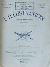 L' ILLUSTRATION No 4181 . 21 avril 1923 . Le monument aux morts de Dunkerque .