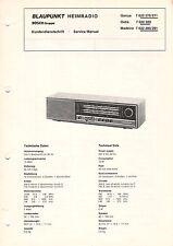BLAUPUNKT - Genua Ostia Madeira - Kundendienstschrift Service Manual - B3317