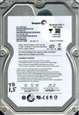 Seagate ST31500341AS P/N: 9JU138-300 F/W: SD19 1.5TB TK