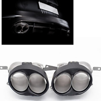 Carbon Fiber Rear Exhaust Muffler Pipe Tip For RS4 RS5 RS6 RS7 A4 A5 A6 A7 WO