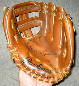 Reggie Jackson Rawlings RBG170 Youth Baseball Glove- New York Yankees, As