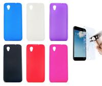 Case Cover Gel TPU Silicone Alcatel 1 / Vodafone Smart E9 + Optional Protector