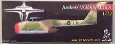 Unicraft Models 1:72 Junker Volksjaeger